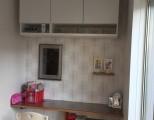 キッチン前に洋室を増築